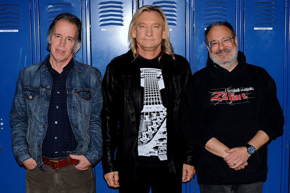The James Gang (L-R) - Dale Peters, Joe Walsh and Jim Fox.