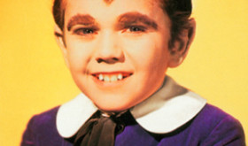 """Eddie Munster"" of The Munsters."