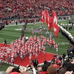 Barrett accounts for 389 total yards and 5 TDs; Buckeyes win 22nd straight in Big Ten