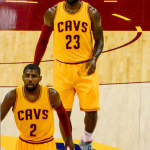 James-Irving-Love combine for 82 Pts in 120-105 win over Lakers