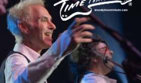 Time Traveller: The #1 Moody Blues Tribute Band delivers a full symphonic rock concert alongside the W.D. Packard Band on Saturday, April 25th at the W.D. Packard Music Hall.