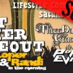 99.7 The Blitz Great Summer Smokeout 2015 rocks with: Three Days Grace, Theory of A Deadman, Pop Evil, and Finger Eleven!