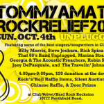 "Tommy Amato Rock Relief 2015 returns ""Unplugged"" at the Hard Rock Rocksino!"