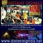 Rush Tribute Band, Distant Signals, returns to The Brothers Lounge!