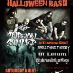 Dillinger's Event Center Halloween Bash with: 40 Below Summer, Breathing Theory, Of Letum and The Sternewirth Privilege!