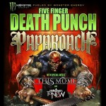 Five Finger Death Punch, Papa Roach, In This Moment, From Ashes To New ready for epic night of Rock at Jacobs Pavilion!