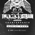 """The Acacia Strain with Counterparts, Fit For An Autopsy & Kublai Khan bring """"Tune Low, Die Slow 2015 Tour"""" to Pittsburgh!"""