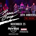 "Beau Coup set for ""The Encore"" at The Hard Rock Rocksino with a New LIVE CD!"