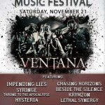 AUTUMN ENCORE MUSIC FESTIVAL WITH IMPENDING LIES TONIGHT AT THE CLEVELAND AGORA