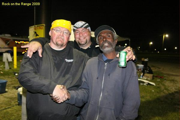 Myself, Rocco and Will at 2009 ROTR. Photo taken by David Heasley (aka Photo Dave).