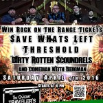 Save Whats Left at Tim Owens' Traveler's Tavern with ROTR Give Away!