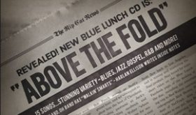 """CD Review: Blue Lunch """"Above the Fold"""""""