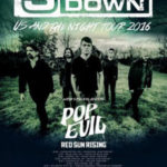 3 Doors Down, Pop Evil and Red Sun Rising hit The Goodyear Theater!