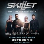 Skillet 'Unleashed' a night of great rock at the Agora with the help of Sick Puppies and Devour the Day!