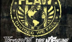 Whiskey Warehouse Bar & Grill plays host to FLAW, Krymzon and Dread Engine this Saturday night!