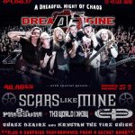 "Dread Engine hosting a 'DREADFUL Night of Chaos' at Alrosa Villa on Saturday as they release their new CD ""Deception By Design""!"