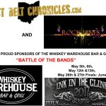 "The Whiskey Warehouse Bar & Grill ""Battle Of The Bands"" Round #1 for Main Stage at ""Ink in the Clink 2017"""