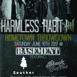 The Basement hosts 'Hometown Throwdown' with Harmless Habit, Souther and Black Coffee!