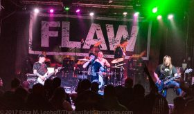 FLAW, Righteous Vendetta, B4i, and Them Evils, furiously pound the Cleveland Agora