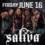 Saliva wsg/The Everyday Losers and Devilstrip set to rock the Cleveland House of Blues this Friday night!!