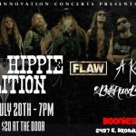Texas Hippie Coalition, FLAW, A Killer's Confession and BathHouseBetty rock Boonie's Bar in Northwood on Thursday, July 20th.