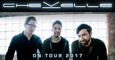 Chevelle invades Cleveland's House of Blues with special guests, Black Map and RavenEye on Sunday, July 9th!!!!!