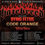 Hatebreed brings The Concrete Confessionals Tour to Cleveland's House of Blues this Saturday wsg/Dying Fetus/Code Orange/Twitching Tongues.