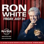 "Funnyman Ron White ""Tater Salad"" Bringing Big Laughs Back to Rocksino on July 20"