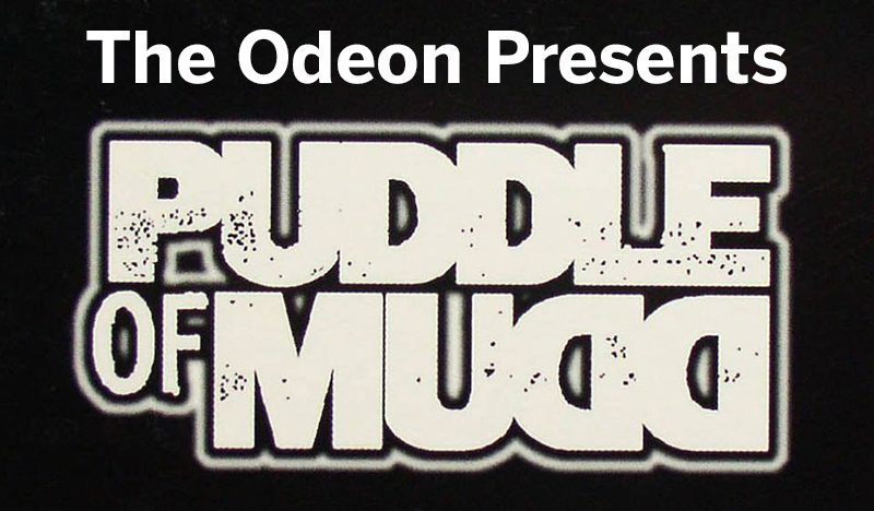 Puddle of Mudd to Play The Odeon March 2nd - The Rust Belt