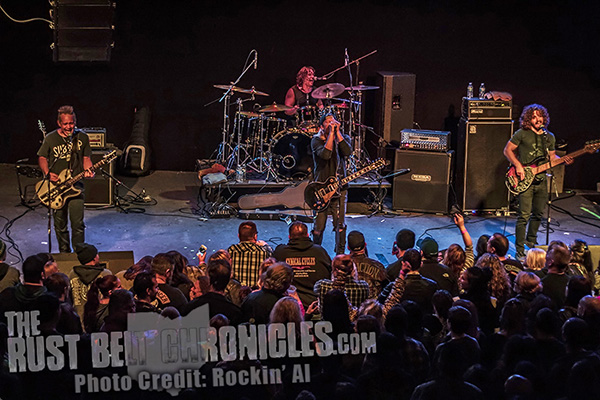 Puddle of Mudd Impresses a Packed House at The Odeon - The