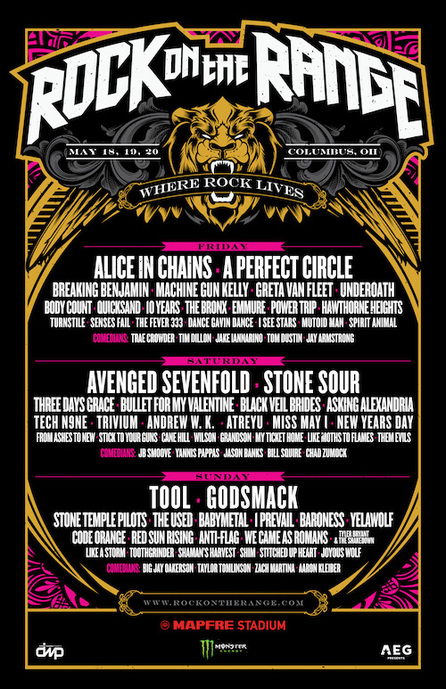 Rock On The Range Tickets : 12th annual rock on the range daily lineups announced weekend passes sold out while just a ~ Vivirlamusica.com Haus und Dekorationen