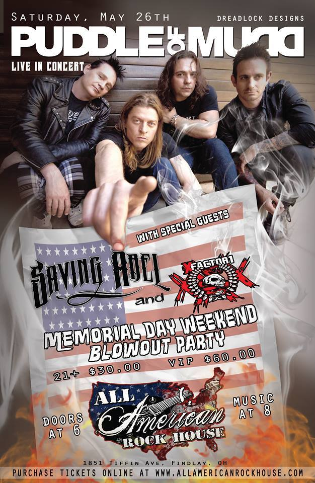 All American Rock House proudly presents The Redemption Tour